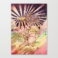 Magic Beans (Alternate colors version) Canvas Print