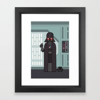 EP4 : Darth Vader Framed Art Print