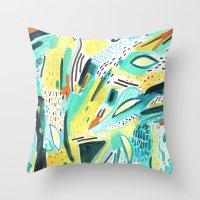 pattern 30 Throw Pillow