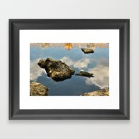 Heaven Could Be Here Framed Art Print