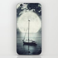 A Journey Under A Starry… iPhone & iPod Skin
