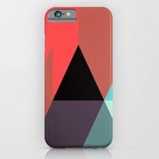 Black Triangle & Reds iPhone 6 Slim Case