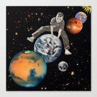 Star Hopper Canvas Print