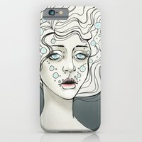 iPhone & iPod Case featuring Drowning  by Fatma Sahem