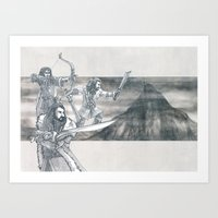 Heirs of Durin Art Print