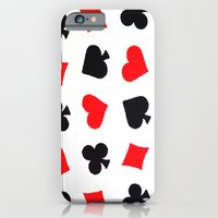 iPhone & iPod Case featuring Queen of Hearts by marianastutz