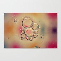 Kaleidoscope: Oil & Water Canvas Print