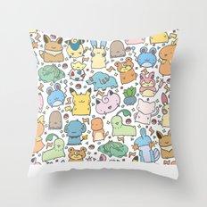 Kawaii Pokémon Throw Pillow