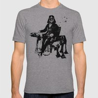 WARS IV Mens Fitted Tee Athletic Grey SMALL