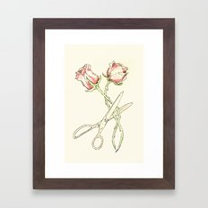 Scissor #13 Framed Art Print