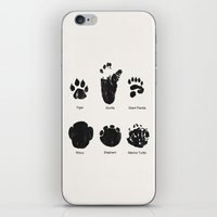 Animal Track iPhone & iPod Skin