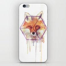 Bonjour Fox!! iPhone & iPod Skin