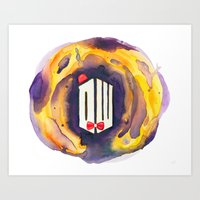 doctor who Art Prints featuring Doctor Who by foreverwars