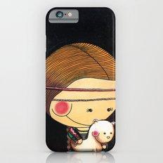 With my ferret  - Reinterpretation of Lady with an Ermine - Leonardo Da vinci - Art for kids Slim Case iPhone 6s