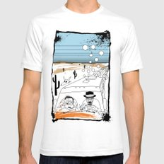 Fear and Loathing in Albuquerque II Mens Fitted Tee White SMALL