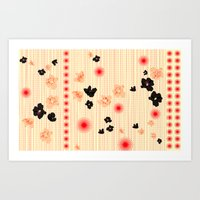 Spotted Blooms Art Print