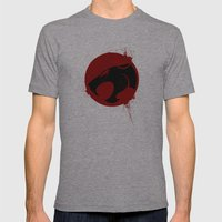 Thundercat Mens Fitted Tee Athletic Grey SMALL