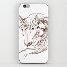 Her first Unicorn iPhone & iPod Skin