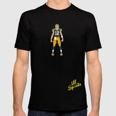 Cheese Head - Aaron Rodgers Mens Fitted Tee SMALL Black