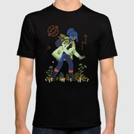 Witch Series: Plants And… Mens Fitted Tee Black SMALL