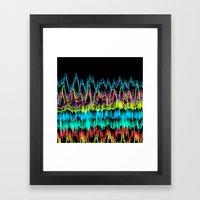 Waves2 Framed Art Print