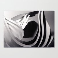Paper Sculpture #4 Canvas Print