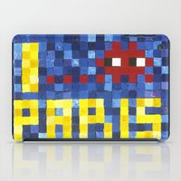 I Space Invader Paris iPad Case