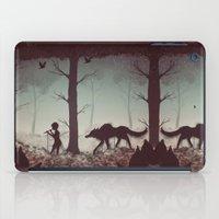 Wolf Parade iPad Case