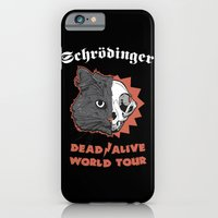 iPhone & iPod Case featuring Schrödinger - DEAD/ALIVE World Tour by Andy Hunt