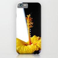 Wet Hibiscus iPhone 6 Slim Case