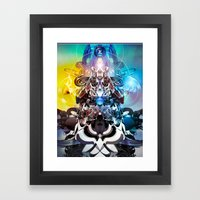 Cielo Framed Art Print