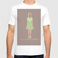 Marc Jacobs Aesthetic Mens Fitted Tee White SMALL