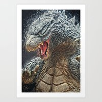 Godzilla - King of the Monsters Art Print