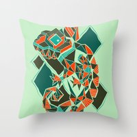 Camaleon Throw Pillow