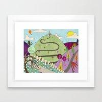 Summer's Day Framed Art Print