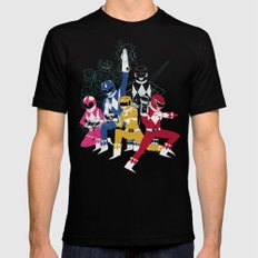 power glove rangers Mens Fitted Tee Black SMALL