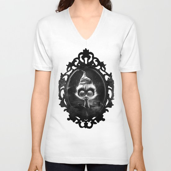 Night Shift (夜勤) V-neck T-shirt