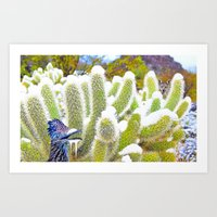 Frosted Acme Desert Delights from Cave Creek, Arizona Art Print