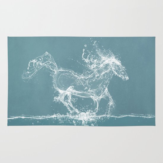 The Water Horse Area & Throw Rug