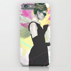 Breakfast at Tiffany's Fashion Illustration Slim Case iPhone 6s