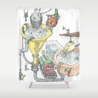 The Wonderful World Of W… Shower Curtain