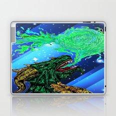 green dragon fire artist Laptop & iPad Skin