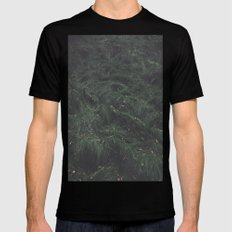 Leave(s) - Nature Photography Mens Fitted Tee Black SMALL