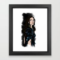 Caroline Framed Art Print
