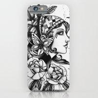 Gipsy Girl - TATTOO iPhone 6 Slim Case