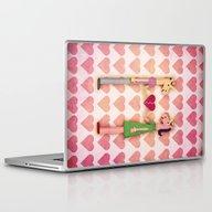 Laptop & iPad Skin featuring Whole Heart Unicorn by That's So Unicorny