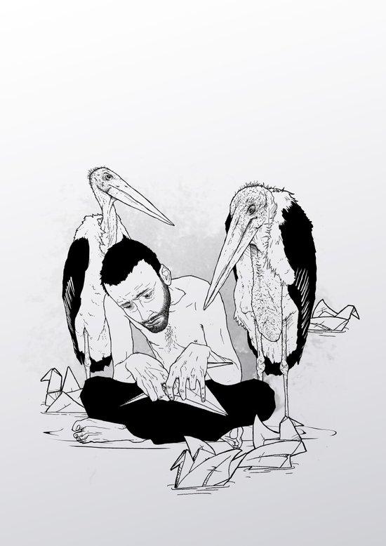 birdmaker print Canvas Print