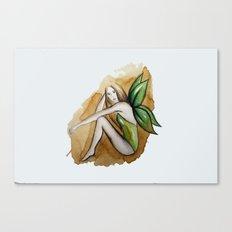 Leaves As Wings Canvas Print