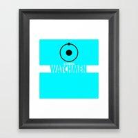 Watchmen 2.0 - Dr. Manha… Framed Art Print