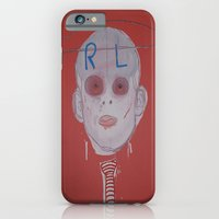 iPhone & iPod Case featuring R & L by Matthew Williams